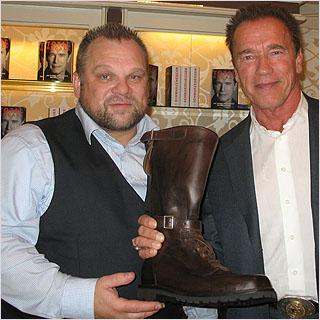 Arnold Schwarzenegger auf der Buchmesse 2012